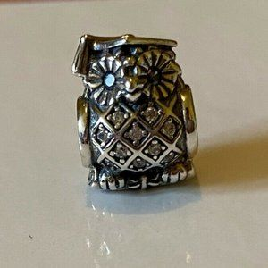 Pandora Wise  Owl Graduation Charm 791502NSB